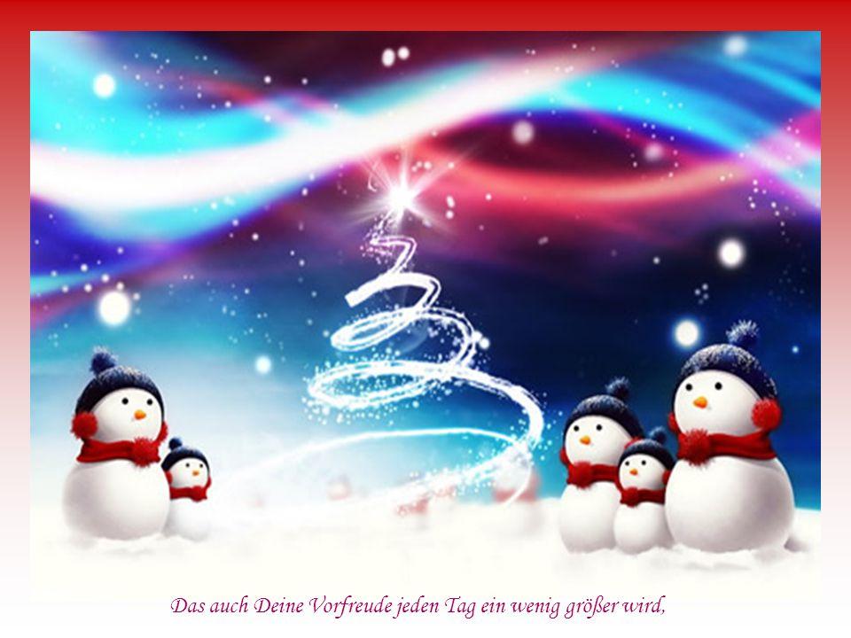 bringt uns dem Weihnachtsfest ein Stückchen näher.