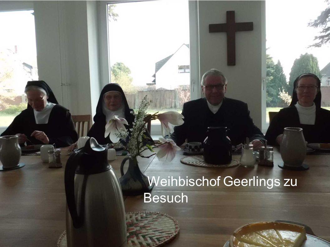 Besuch der Benediktiner aus der Cella St. Benedikt - Hannover