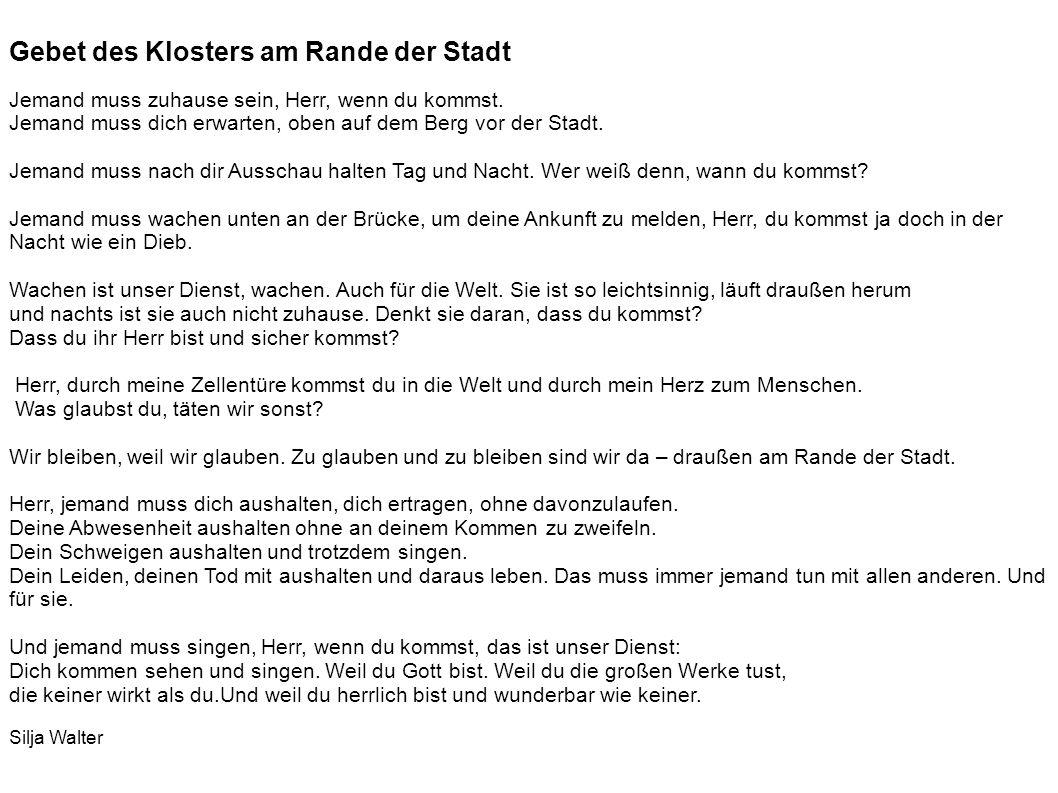 Karmel St. Josef Milanstr. 1 30627 Hannover www.karmel-hannover.de www.karmel-hannover.de