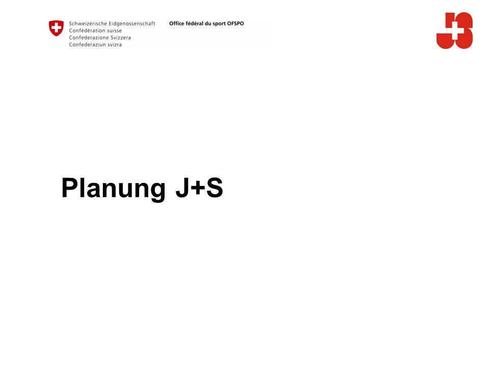 Planung J+S