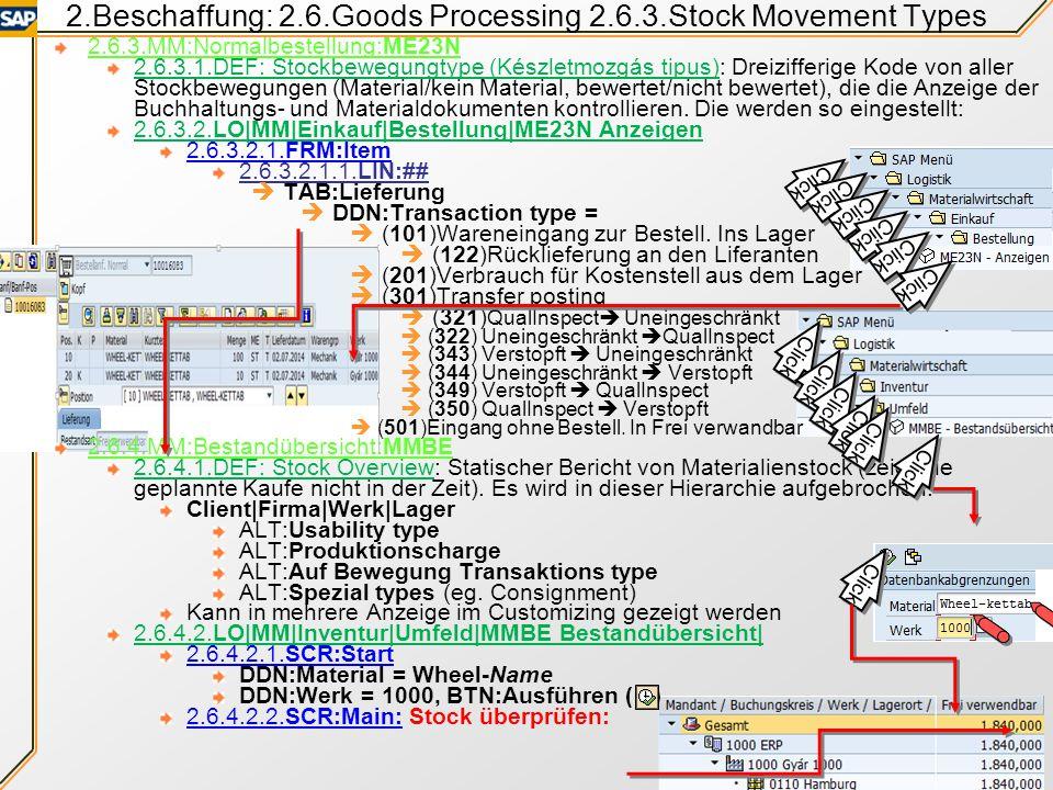 2.Beschaffung: 2.6.Goods Processing Documents 2 2.6.2.1.2.ALT:Goods issue (Anyagkiadási bizonylat): Für Materialausgabe vom Stock/Verbrauch/Sendung St