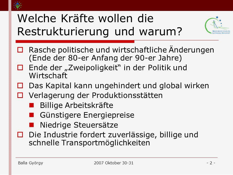 Balla György2007 Oktober 30-31- 2 - Welche Kräfte wollen die Restrukturierung und warum.
