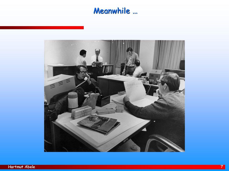 Hartmut Abele 8 Pioneer 10/11: Main Missions