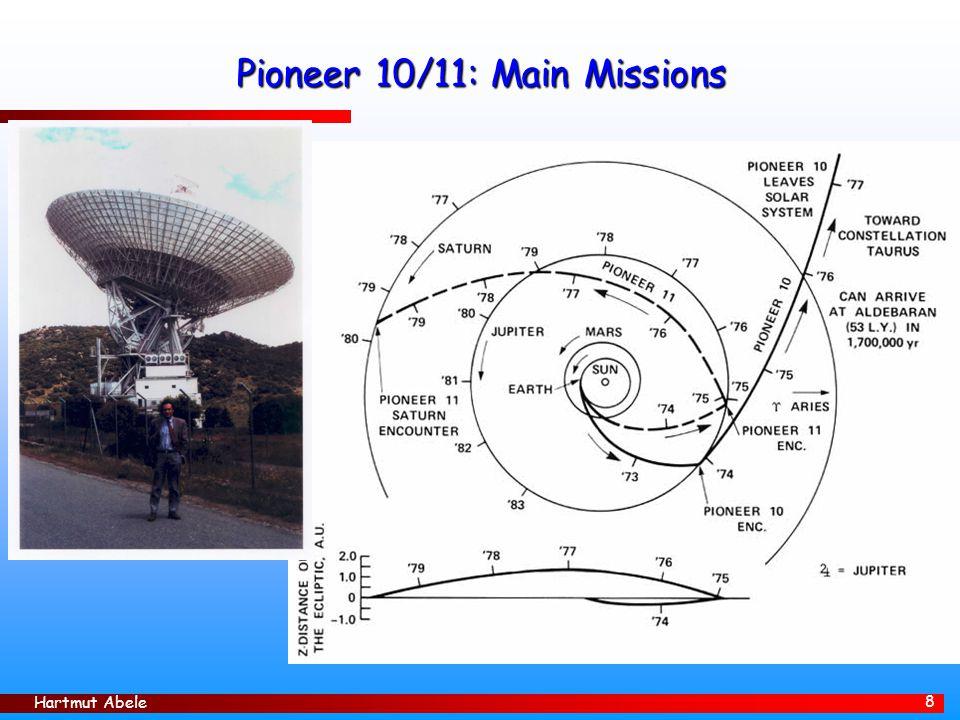 Hartmut Abele 19 Lunar Laser Ranging Präzisionsmessungen zur Überprüfung von Gravitationstheorien Apollo 14 – Reflektor: 100 corner cubes, je 3,8cm im Durchmesser auf einem Aluminiumpaneel.
