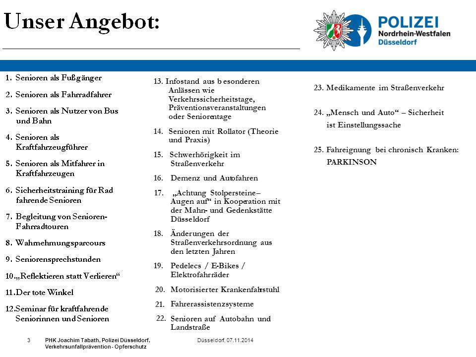 """23. Medikamente im Straßenverkehr 24. """"Mensch und Auto"""" – Sicherheit ist Einstellungssache 25. Fahreignung bei chronisch Kranken: PARKINSON Düsseldorf"""