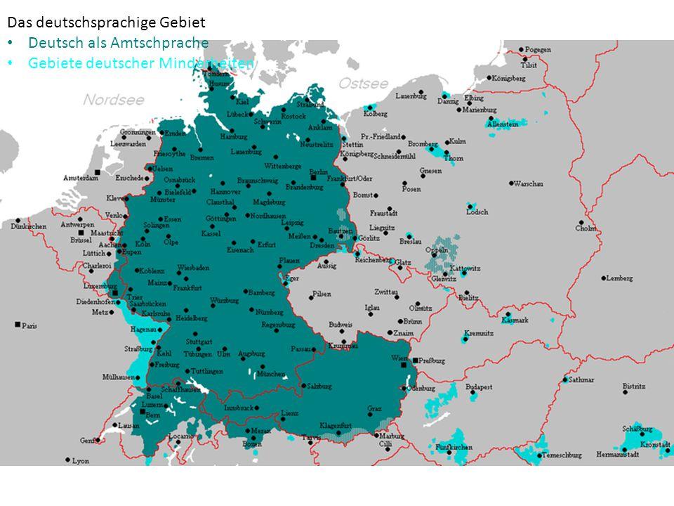 """Zusammenfassung: Unter dem Begriff """"deutschsprachige Länder versteht man die Länder, in denen Deutsch die Amtsprache ist (BRD, Österreich, Schweiz, Luxemburg, Liechtenstein)."""