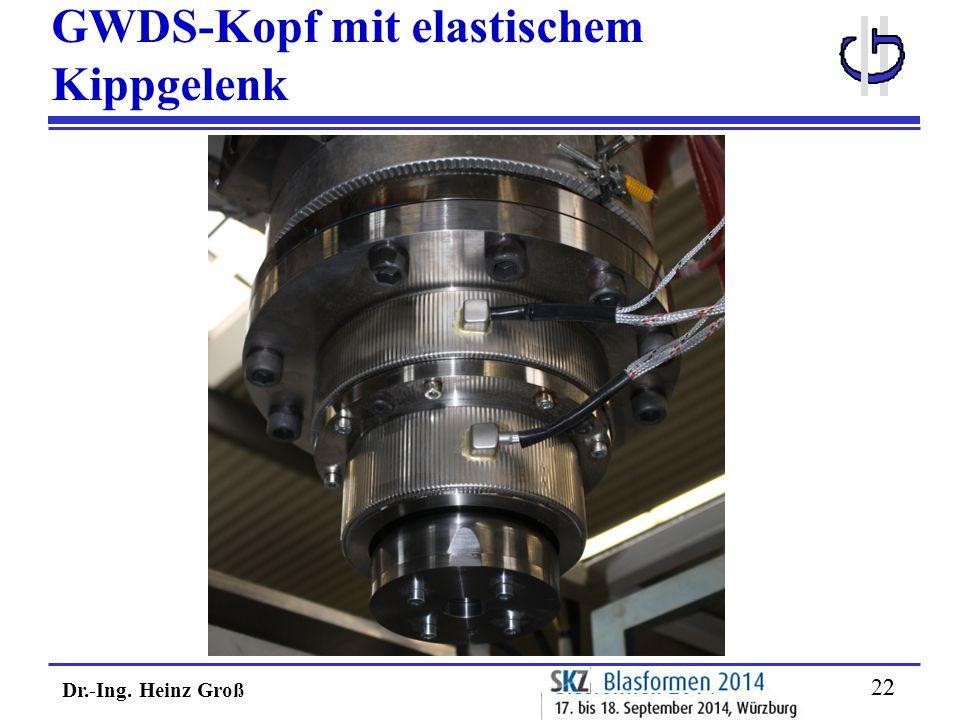 Dr.-Ing. Heinz Groß 22 GWDS-Kopf mit elastischem Kippgelenk