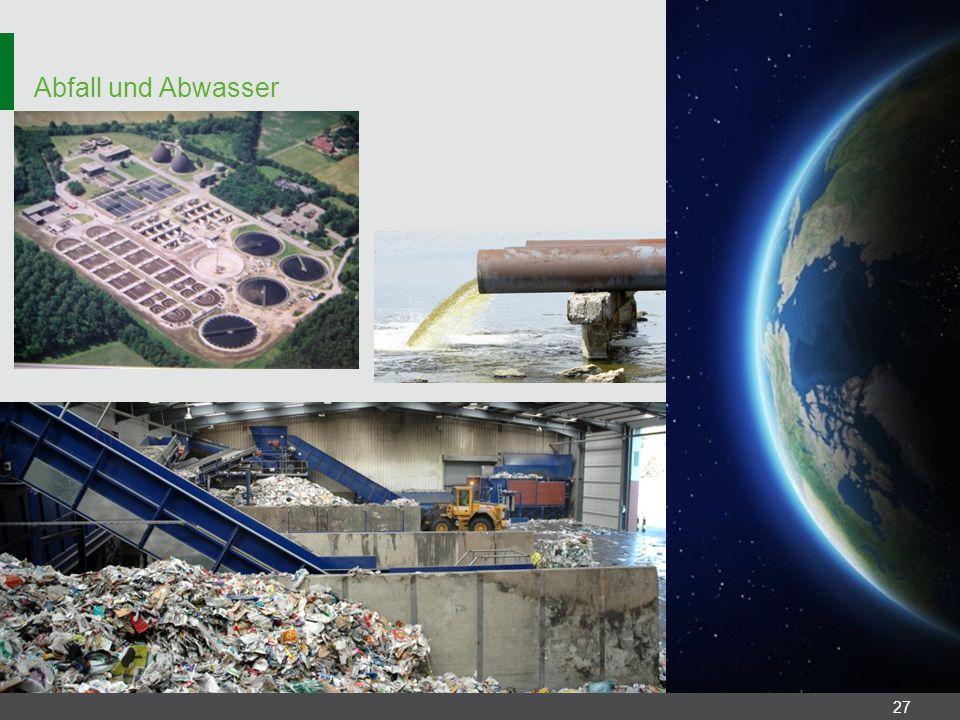 Abfall und Abwasser 27