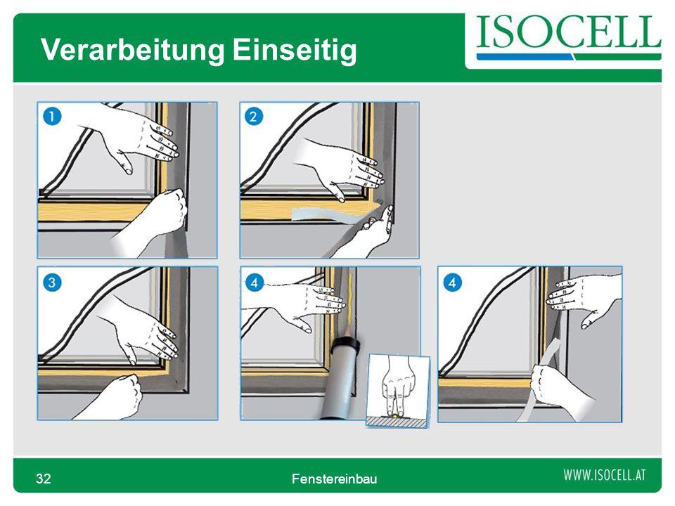 Verarbeitung Einseitig Fenstereinbau32