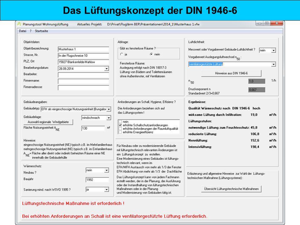 """Die DIN 1946-6 """"Lüftung von Gebäuden Aufbau von Lüftungssystemen in Wohnungen Lüftungsprinzip (Werkbild Inventer) Lüftungsgerät in der Fensterlaibung (Werkbild Ventomaxx) Wand-Lüftungsgerät (Werkbild Lunos)"""