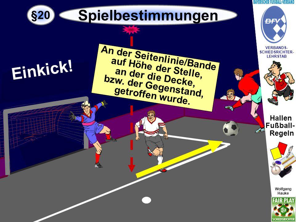 Hallen Fußball- Regeln Wolfgang Hauke VERBANDS- SCHIEDSRICHTER- LEHRSTAB Wolfgang Hauke 1 2 34 z.B.: Foulspiel 2-Minuten Zeitstrafe Persönliche Strafen.