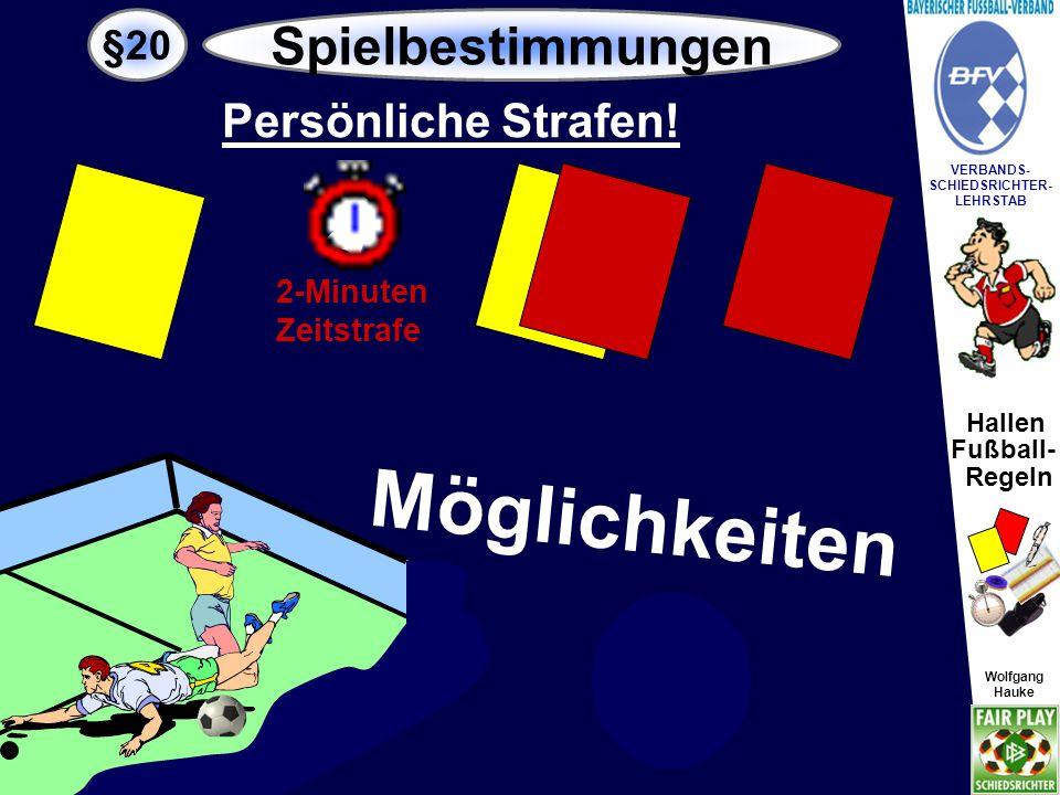 Hallen Fußball- Regeln Wolfgang Hauke VERBANDS- SCHIEDSRICHTER- LEHRSTAB Wolfgang Hauke .