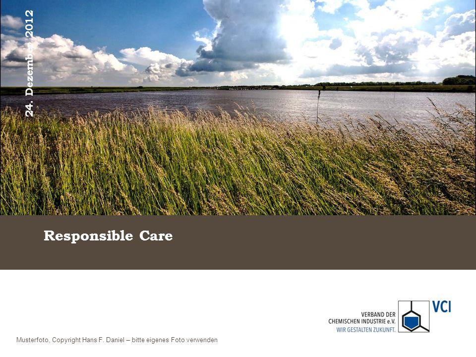 Responsible Care 24. Dezember 2012 Musterfoto, Copyright Hans F. Daniel – bitte eigenes Foto verwenden
