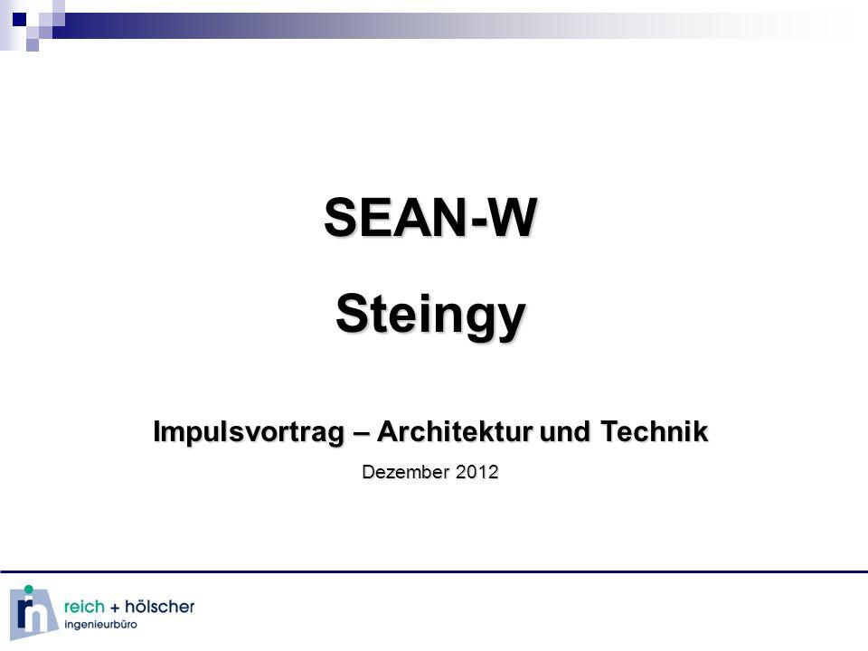 SEAN-WSteingy Impulsvortrag – Architektur und Technik Dezember 2012