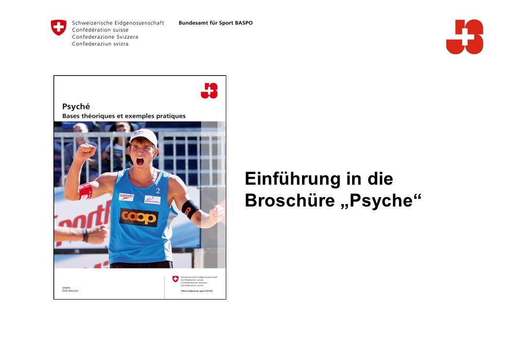12 Bundesamt für Sport Jugend+Sport Mental-taktische Kompetenz: Willen steuern
