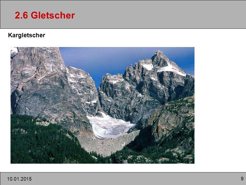 9 10.01.2015 2.6 Gletscher Kargletscher