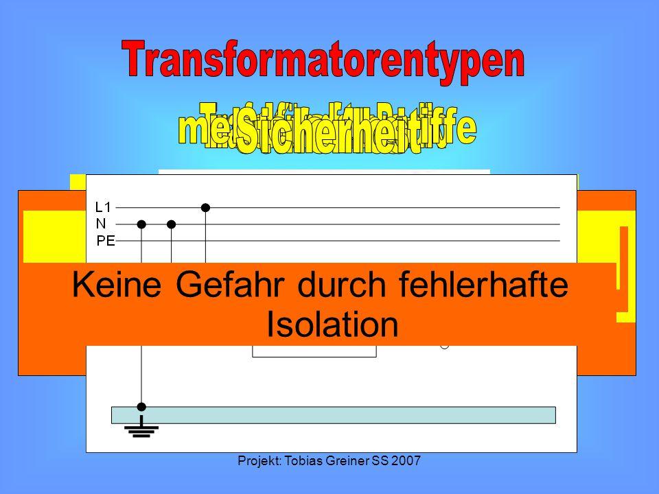 Projekt: Tobias Greiner SS 2007 Hochtransformieren von Spannungen http://leifi.physik.uni-muenchen.de/web_ph10/umwelt-technik/12trafoallerlei/allerlei