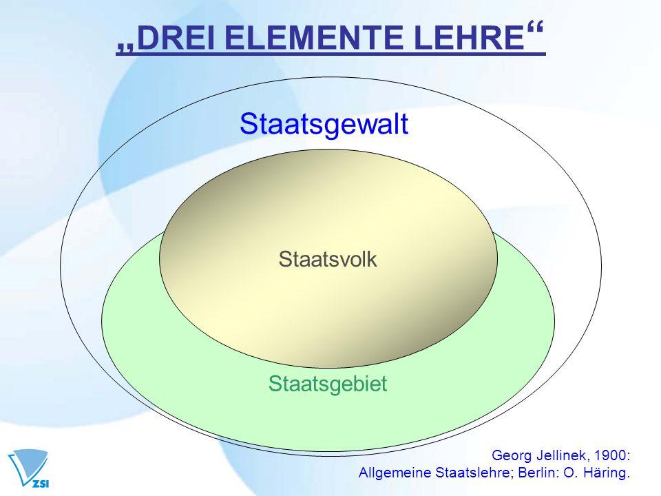 STAATSGEWALT (1) Wie wird der gemeinsame Rechtsraum gestaltet .