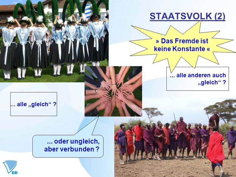 STAATSVOLK (3) Strukturieren, bis die Persönlichkeit (ver-)schwindet.