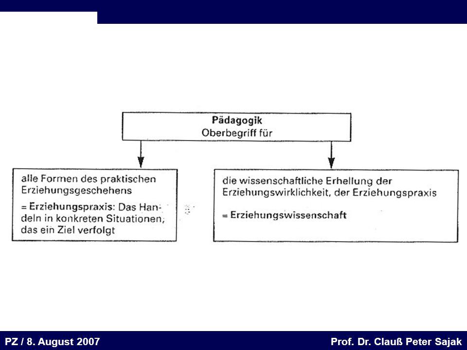 Seite 32 20.August 2001 Dr. H. Sievert / Dr. D. Seifert Arbeitsmeeting e-learning-Portal 20. August 2001Dr. H. Sievert / Dr. D. Seifert PZ / 8. August