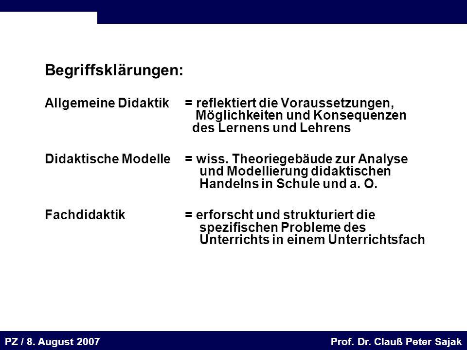 Seite 46 20.August 2001 Dr. H. Sievert / Dr. D. Seifert Arbeitsmeeting e-learning-Portal 20. August 2001Dr. H. Sievert / Dr. D. Seifert PZ / 8. August