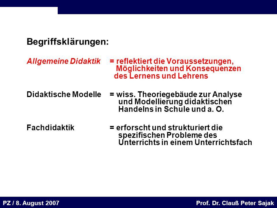 Seite 47 20.August 2001 Dr. H. Sievert / Dr. D. Seifert Arbeitsmeeting e-learning-Portal 20. August 2001Dr. H. Sievert / Dr. D. Seifert PZ / 8. August