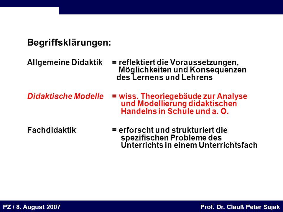 Seite 48 20.August 2001 Dr. H. Sievert / Dr. D. Seifert Arbeitsmeeting e-learning-Portal 20. August 2001Dr. H. Sievert / Dr. D. Seifert PZ / 8. August