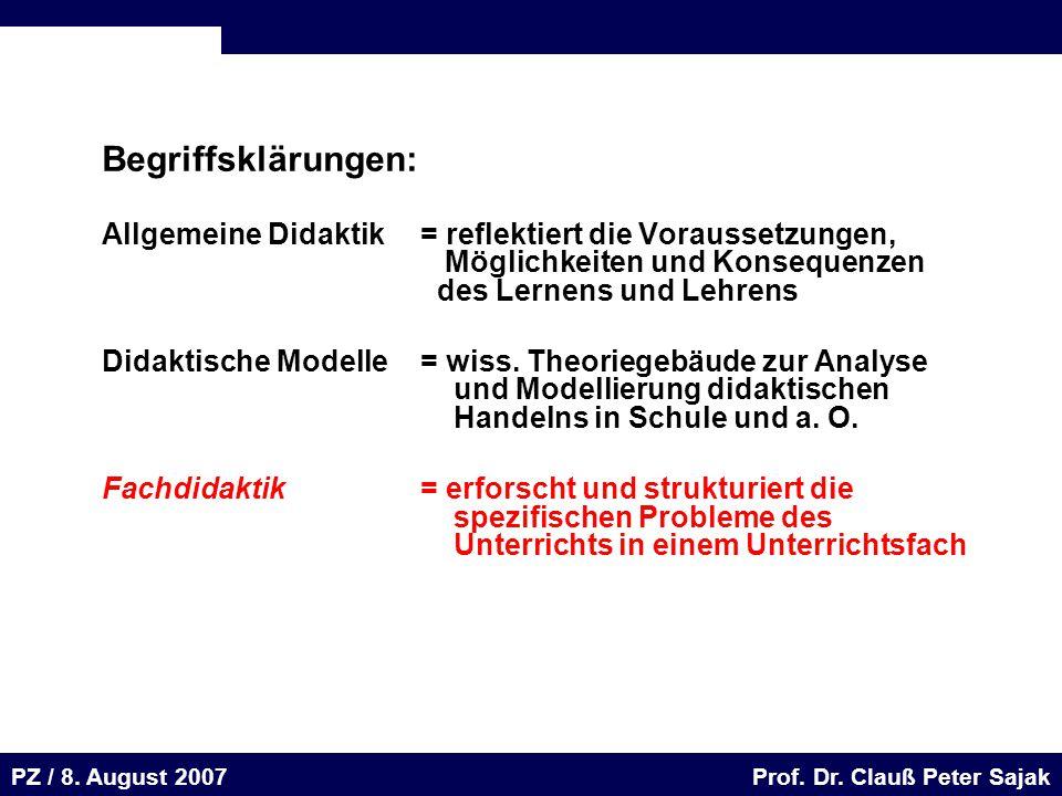 Seite 49 20.August 2001 Dr. H. Sievert / Dr. D. Seifert Arbeitsmeeting e-learning-Portal 20. August 2001Dr. H. Sievert / Dr. D. Seifert PZ / 8. August