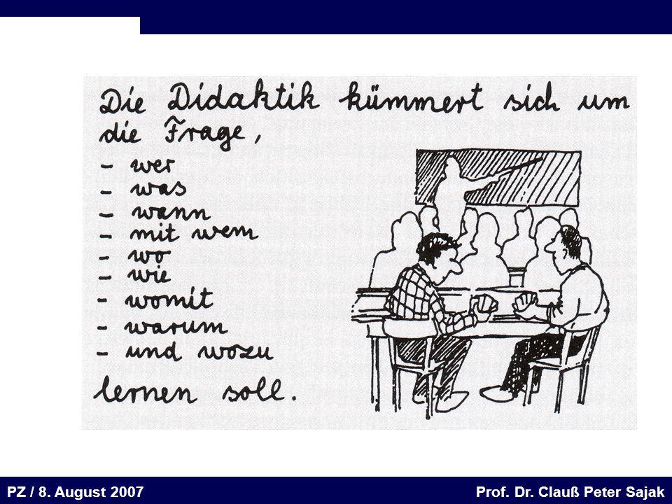 Seite 51 20.August 2001 Dr. H. Sievert / Dr. D. Seifert Arbeitsmeeting e-learning-Portal 20. August 2001Dr. H. Sievert / Dr. D. Seifert PZ / 8. August