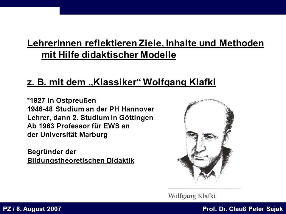 Seite 56 20.August 2001 Dr. H. Sievert / Dr. D. Seifert Arbeitsmeeting e-learning-Portal 20. August 2001Dr. H. Sievert / Dr. D. Seifert PZ / 8. August
