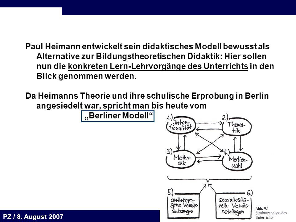 Seite 63 20.August 2001 Dr. H. Sievert / Dr. D. Seifert Arbeitsmeeting e-learning-Portal 20. August 2001Dr. H. Sievert / Dr. D. Seifert PZ / 8. August