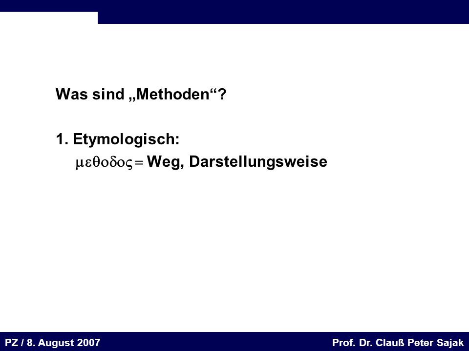 Seite 69 20.August 2001 Dr. H. Sievert / Dr. D. Seifert Arbeitsmeeting e-learning-Portal 20. August 2001Dr. H. Sievert / Dr. D. Seifert PZ / 8. August