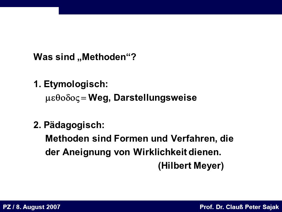 Seite 70 20.August 2001 Dr. H. Sievert / Dr. D.