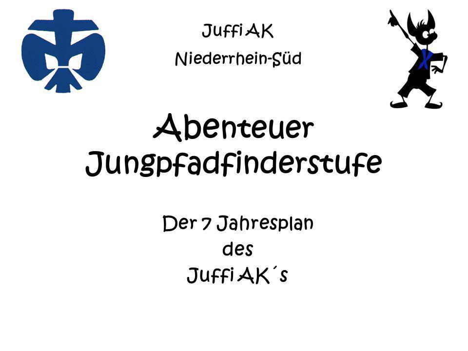 Abe nteuer Jungpfadfinderstufe Der 7 Jahresplan des Juffi AK´s Juffi AK Niederrhein-Süd