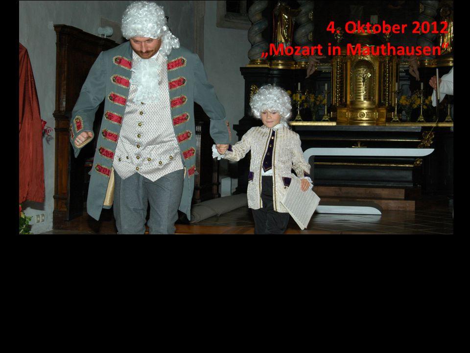 """4. Oktober 2012 """"Mozart in Mauthausen"""""""