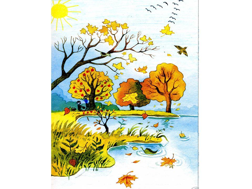 Ich mochte auch wissen, wie euer Dorf im Herbst aussieht.