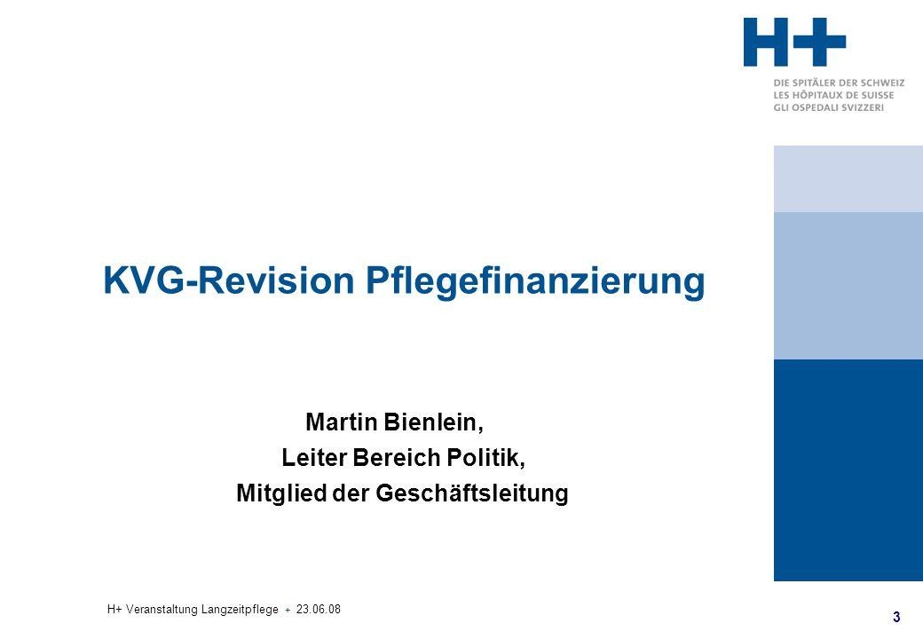 4 H+ Veranstaltung Langzeitpflege + 23.06.08 Gesetzliche Grundlagen und Reformen 1990 – 1994, 1995 (in Kraft 1.1.1996) Versprechen: Die Langzeitpflege wird gezahlt.