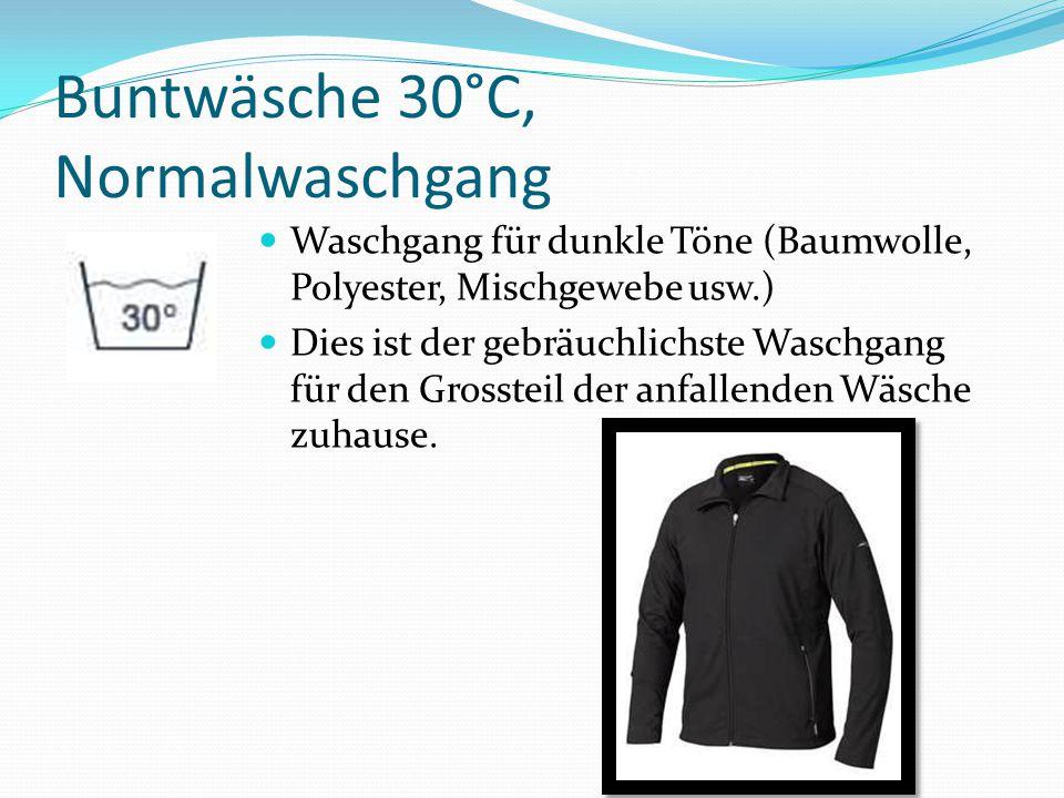 Feinwäsche 30°C, Schonwaschgang Für Modal, Viskose, Polyacryl, Polyester und Polyamid.