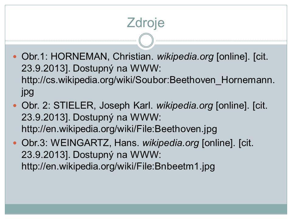 Zdroje Obr.1: HORNEMAN, Christian.wikipedia.org [online].