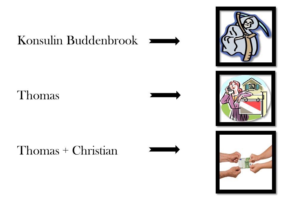 Konsulin Buddenbrook Thomas Thomas + Christian