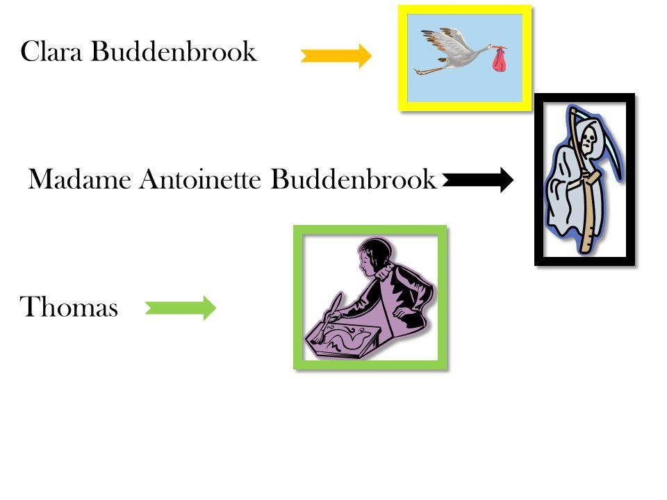 Clara Buddenbrook Madame Antoinette Buddenbrook Thomas