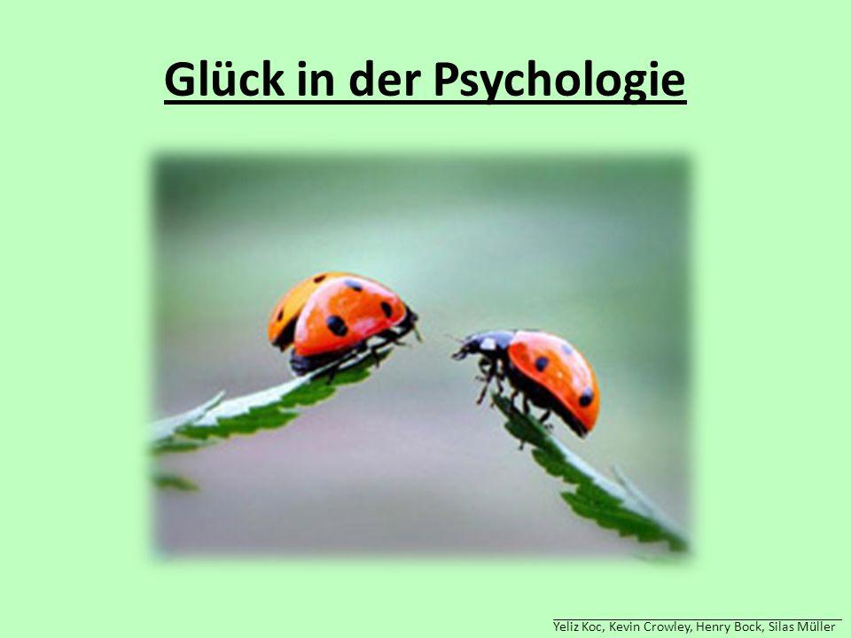 Glück in der Psychologie Yeliz Koc, Kevin Crowley, Henry Bock, Silas Müller