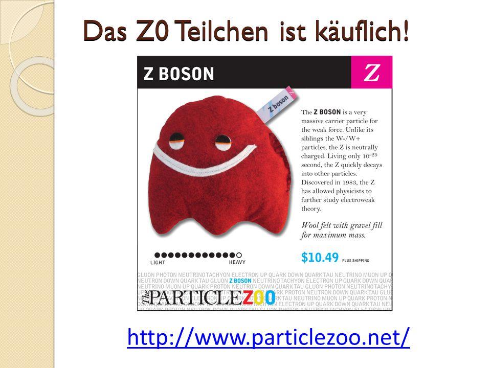 http://www.particlezoo.net/ Das Z0 Teilchen ist käuflich!