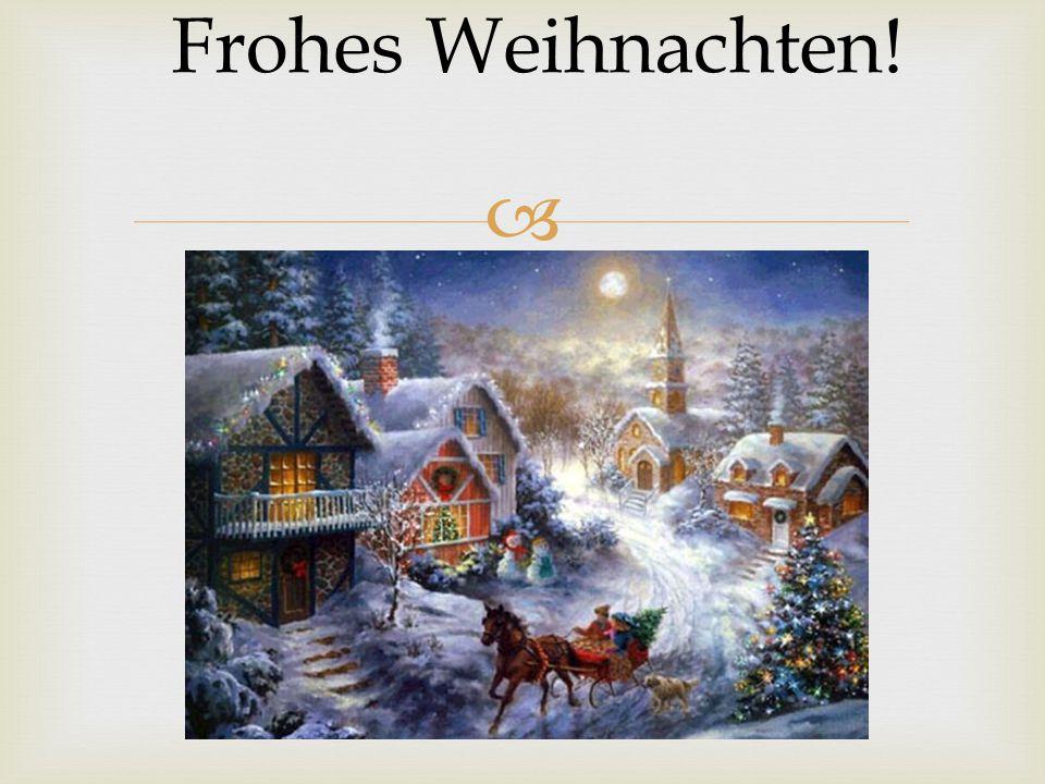  Frohes Weihnachten!