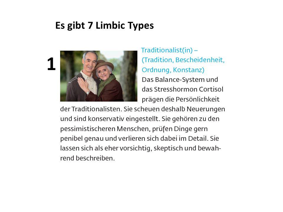 Es gibt 7 Limbic Types 1