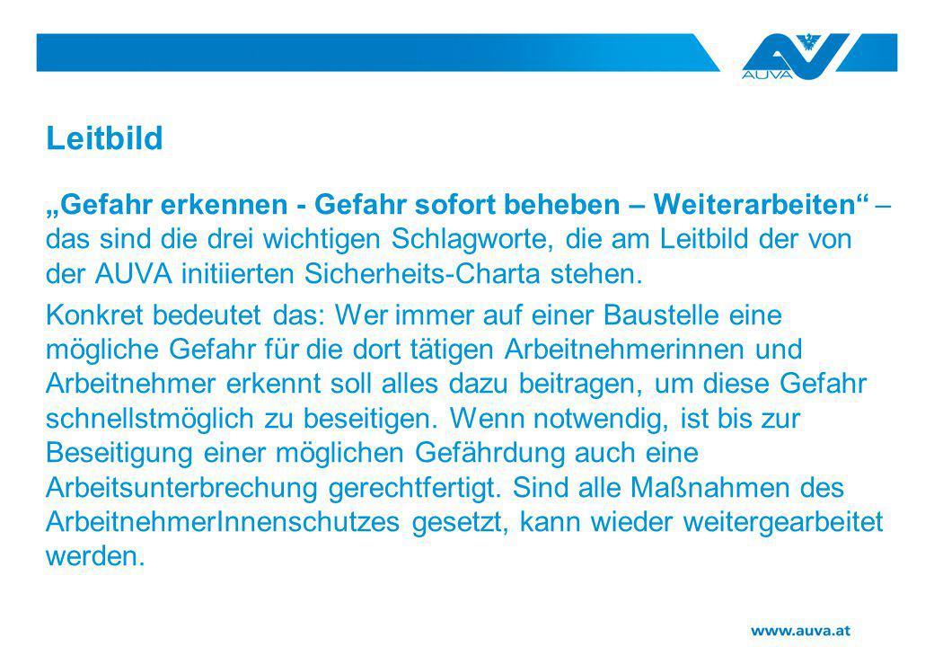 Die Akteure: Bauherr/Planer/Koordinator Arbeitgeber/Vorgesetze Arbeitnehmer