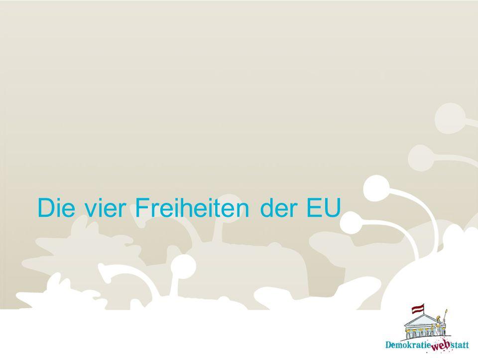 Die vier Freiheiten der EU