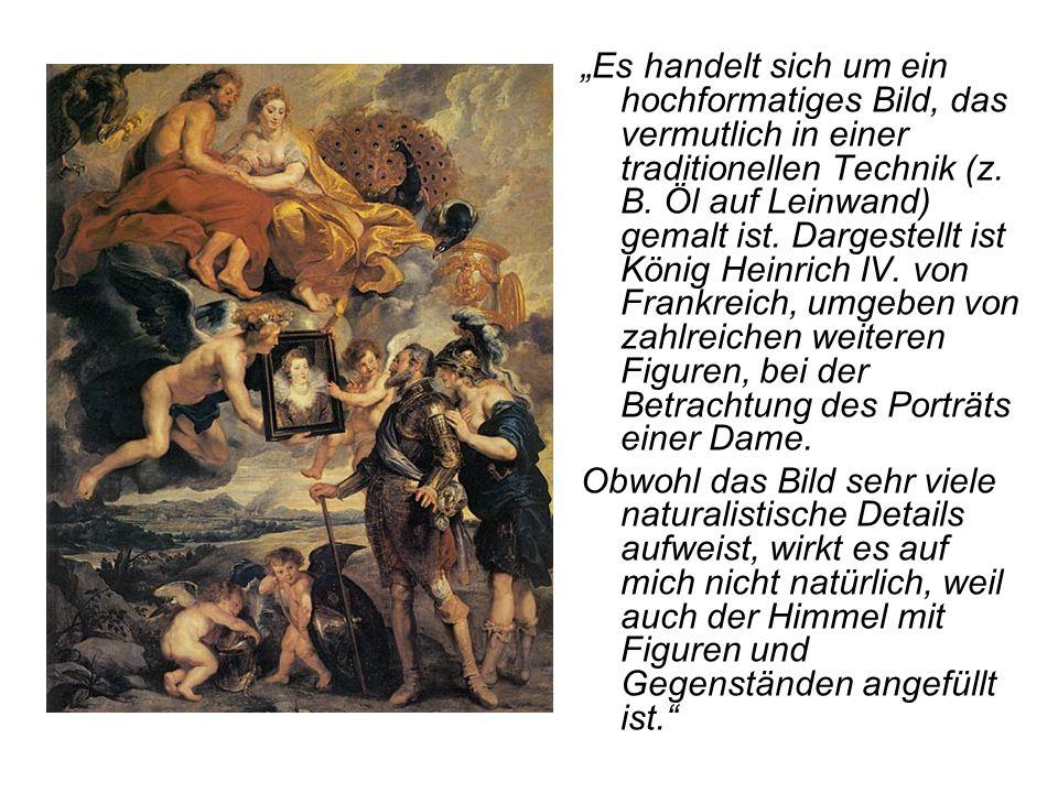 """""""Es handelt sich um ein hochformatiges Bild, das vermutlich in einer traditionellen Technik (z. B. Öl auf Leinwand) gemalt ist. Dargestellt ist König"""
