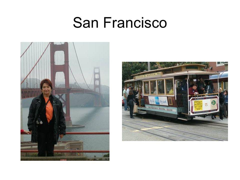 San Francisco Kaum angekommen-gehts los zu Fishermans Wharf zum exclusiven Fischessen!!!!!!!!.
