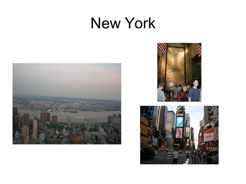 New York Mein Traum war schon immer- einmal Amerika zu sehen, am 17.